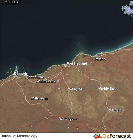 Oz Forecast Port Hedland Weather Radar Tides And Weather Stations