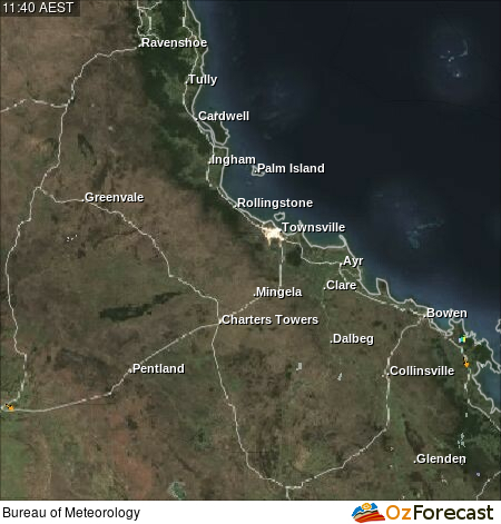 Oz Forecast West End Townsville Weather Radar Tides And Weather