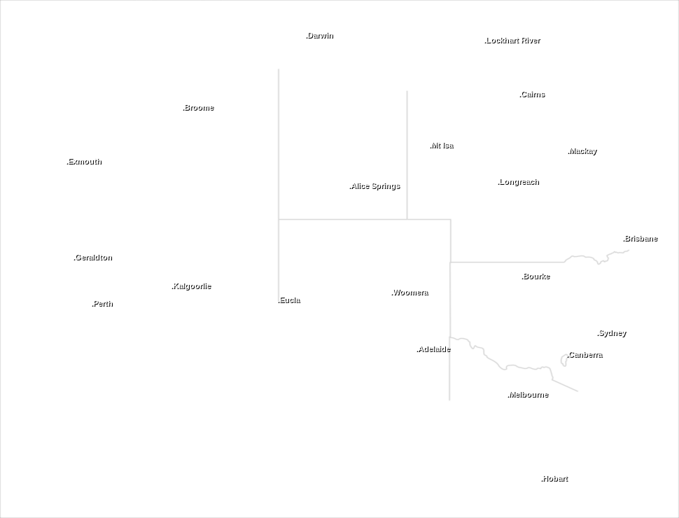 Australian National Radar Overlay