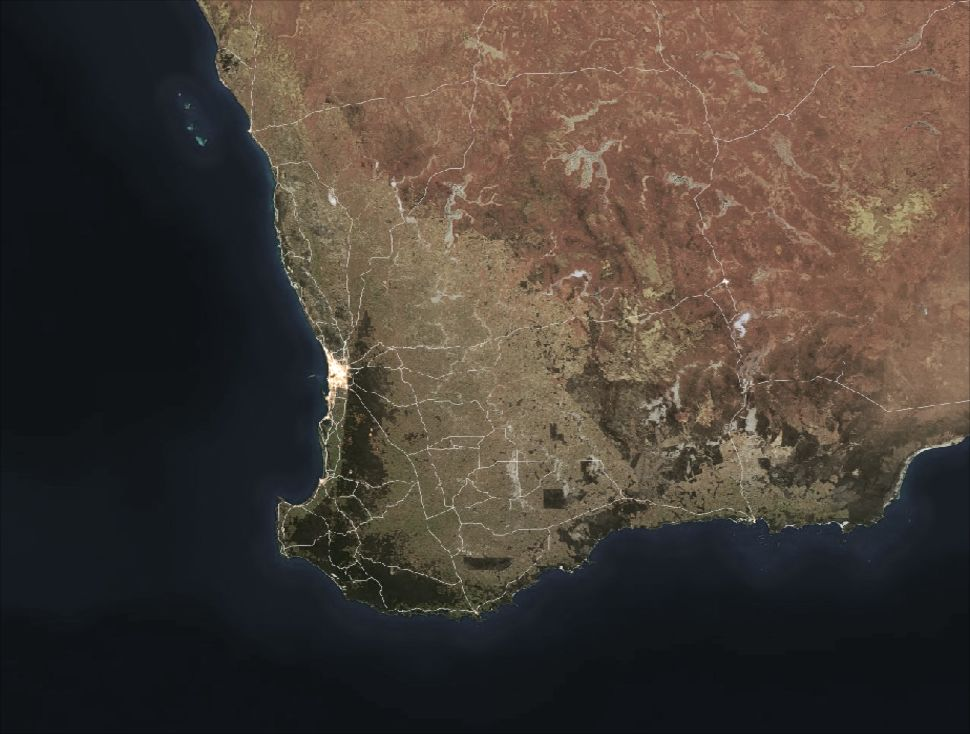 Oz Forecast - South Western Australia Weather Radar